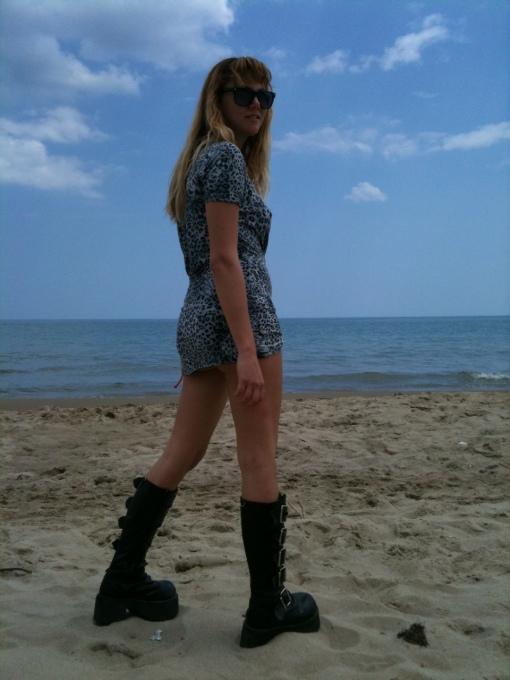 spiaggia  anffibi