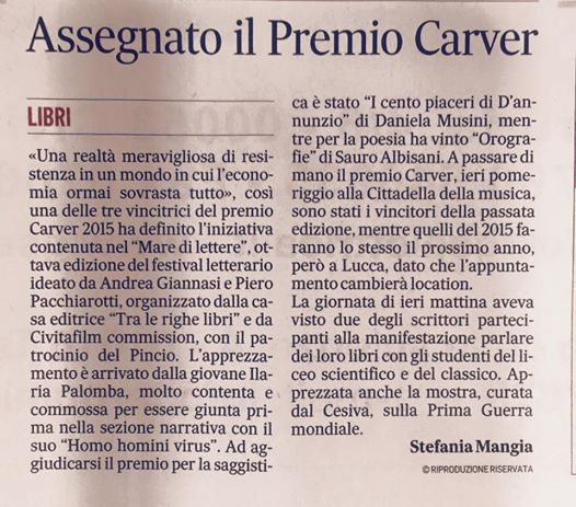 messaggeroCarver